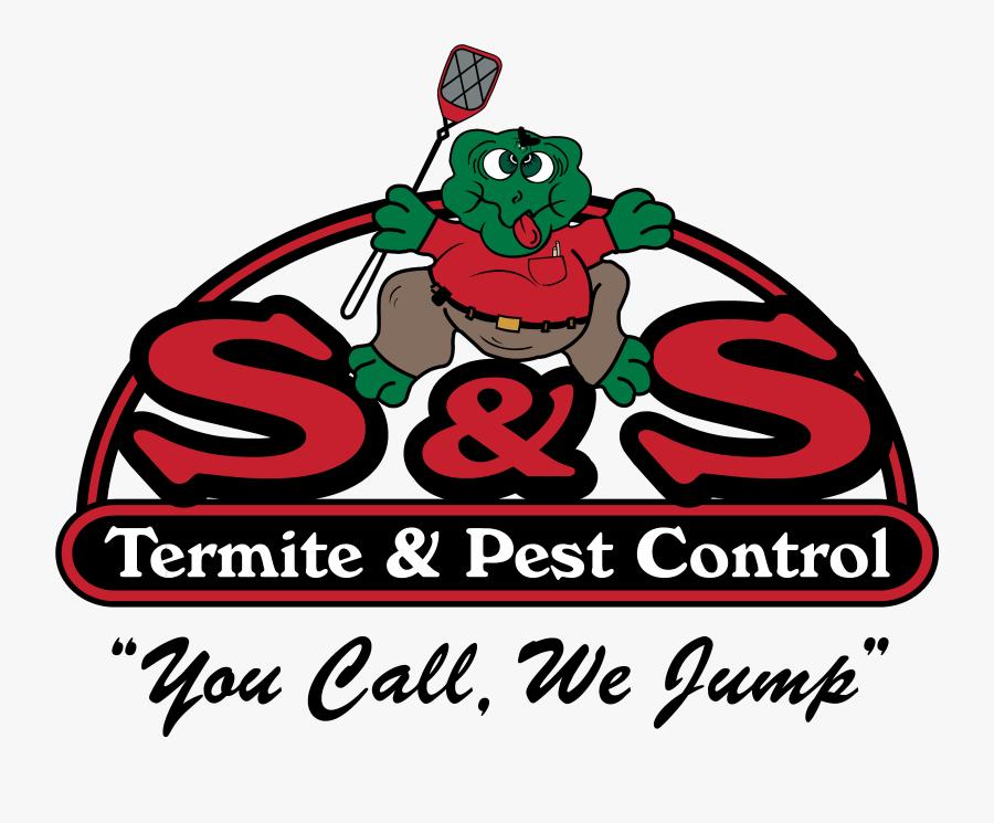 S & S Termite Logo, Transparent Clipart