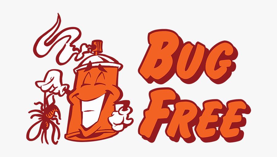 Bug Free Pest Control - Illustration, Transparent Clipart