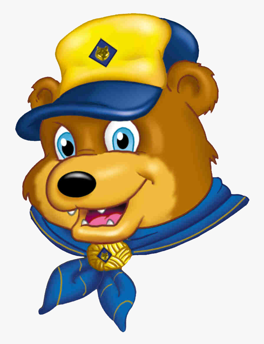 In The Third Grade, Cub Scouts Work Toward The Bear - Cub Scouting, Transparent Clipart