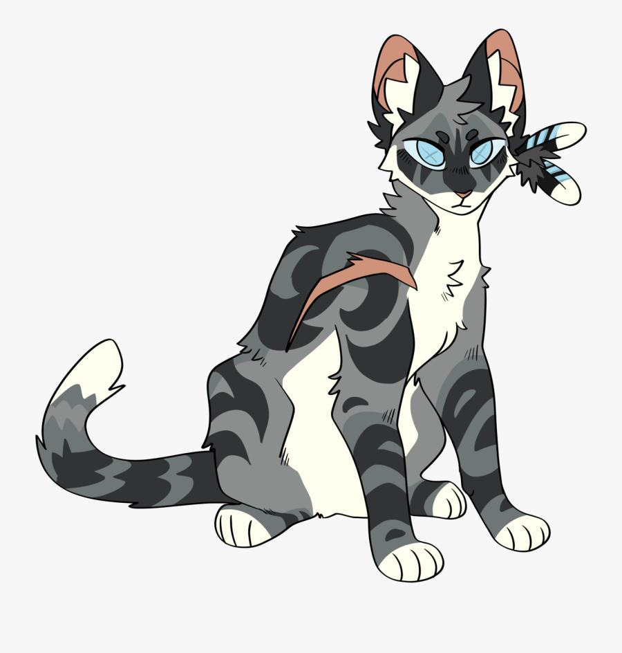 Warrior Cats Jayfeather, Transparent Clipart