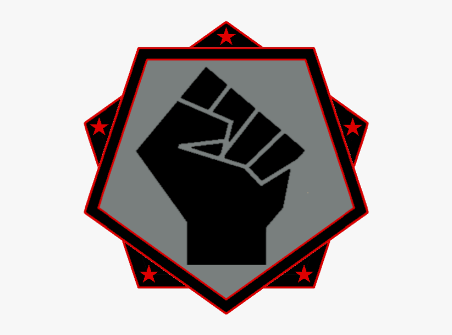 Transparent Black Fist Png - Symbol Black Life Matter, Transparent Clipart