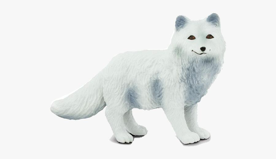 Animal Figure,white,arctic - Safari Ltd Arctic Fox, Transparent Clipart