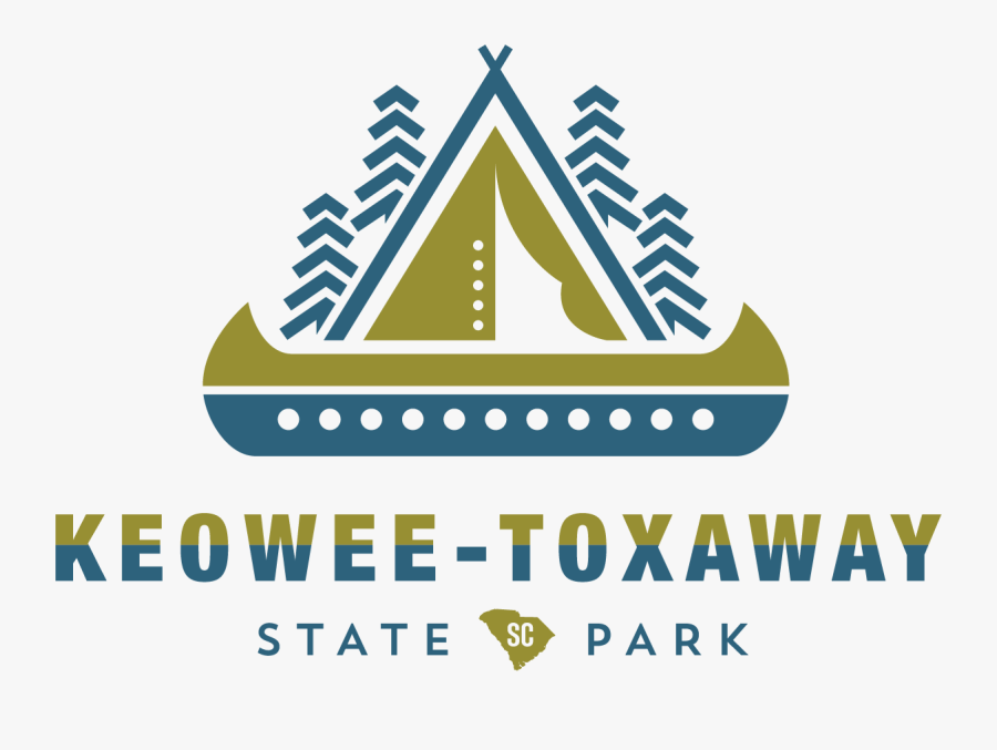 Clip Art Keowee Toxaway South Carolina - Keowee Toxaway State Park Map, Transparent Clipart