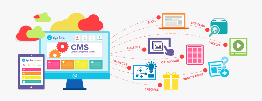 Content Management Systems Development - Cms Web, Transparent Clipart