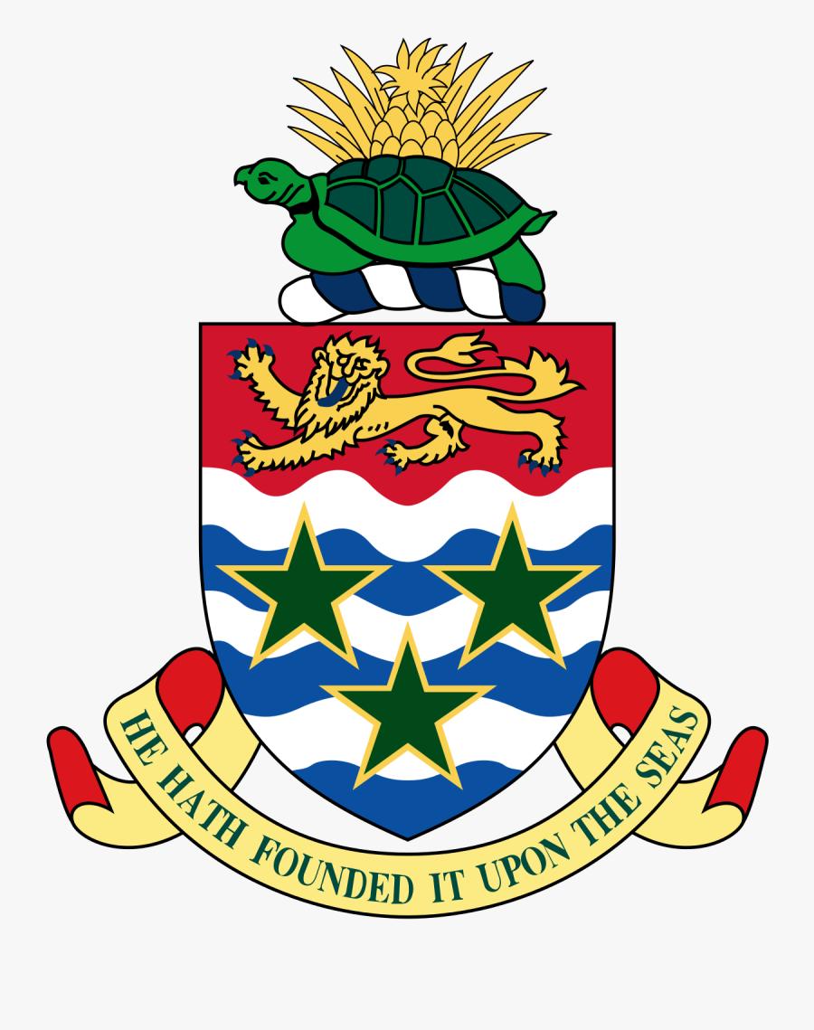 Cayman Islands Coat Of Arms, Transparent Clipart