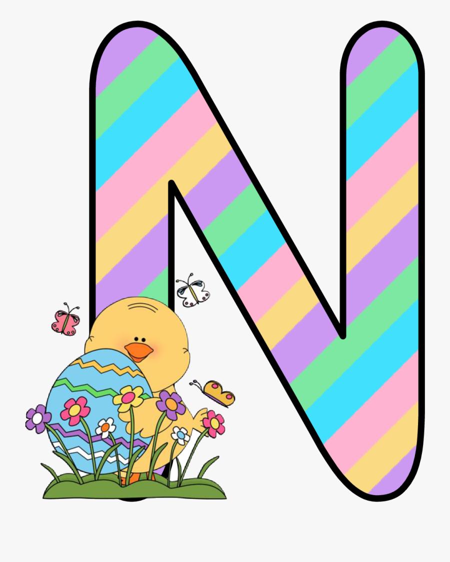 Ch B *✿* Alfabeto Easter De Kid Sparkz Clipart , Png - D Alfabeto Easter De Kidsparkz Holiday Fonts, Transparent Clipart