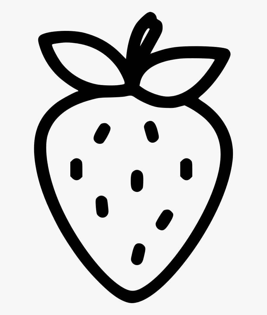 Strawberry Fruit - Black Strawberry Vector Png , Free ...
