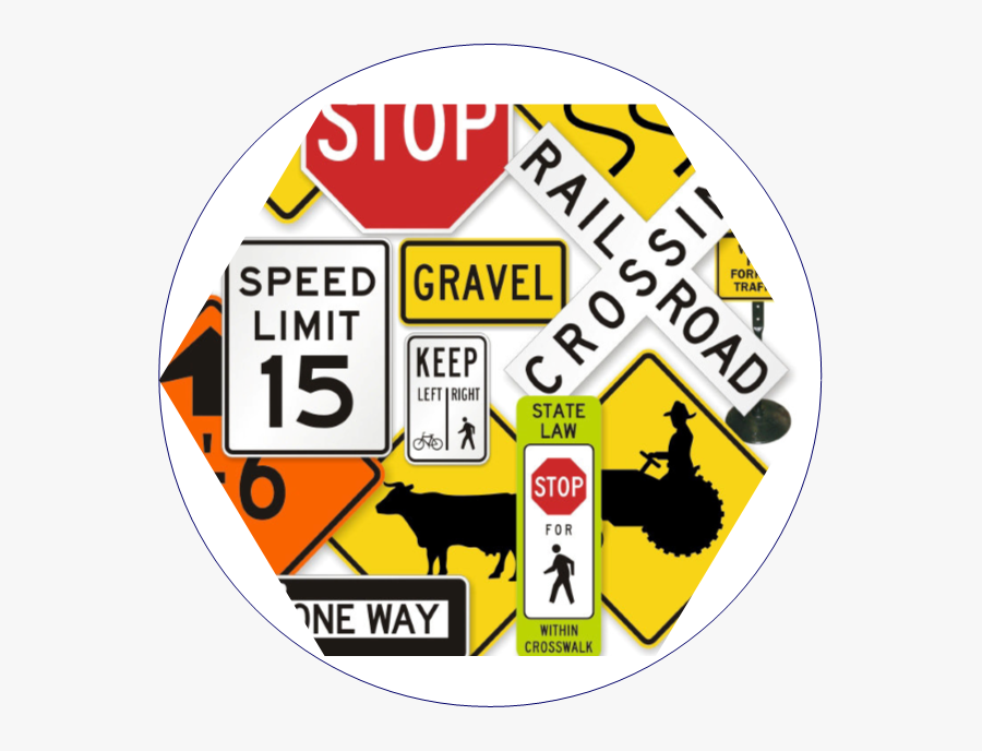 Street Clipart Vertical Road - Speed Limit Sign, Transparent Clipart