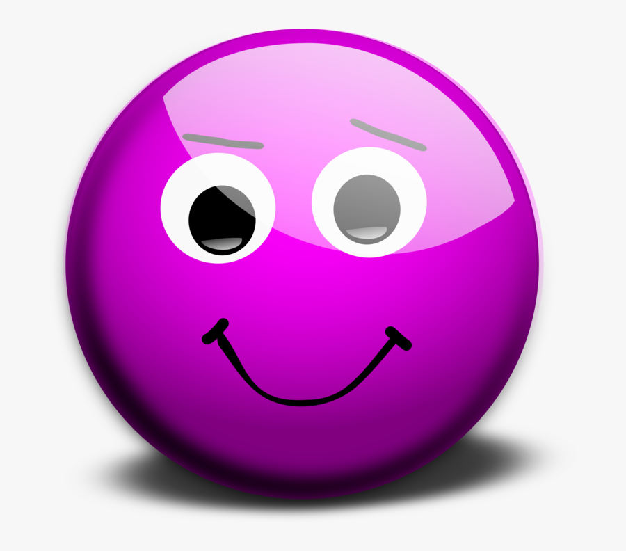 Transparent Wink Face Png - Animated Moving Smiley Face, Transparent Clipart