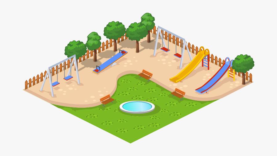 Public Play Venue,games,illustration - Playground Png, Transparent Clipart