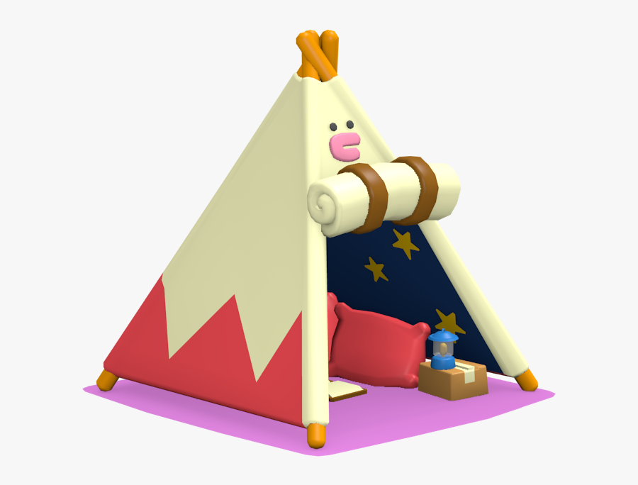 Transparent Tipi Png - Outdoor Play Equipment, Transparent Clipart