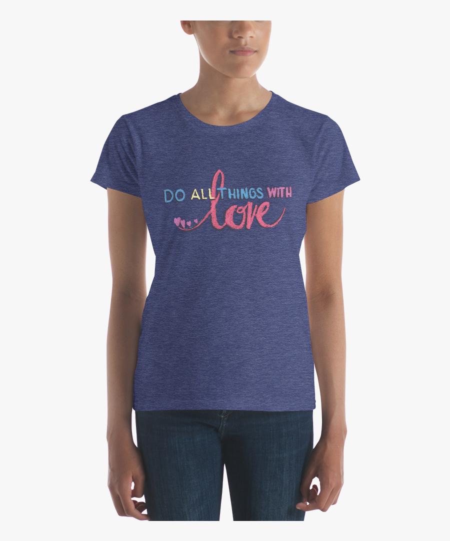 Transparent Chalk Heart Png - Womens Bird Shirt, Transparent Clipart