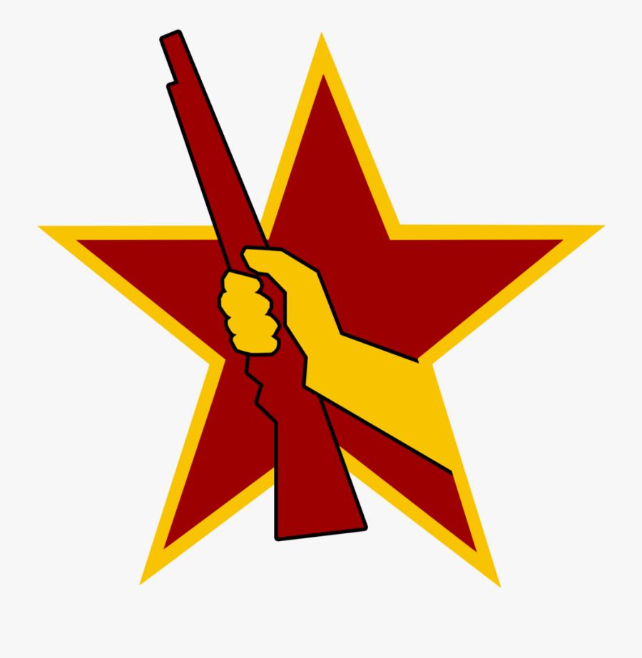 Socialist Combat Emblem By Party9999999 Socialist Combat - Communist Symbols Transparent, Transparent Clipart