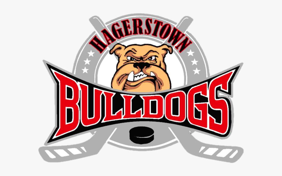 Transparent Bulldog Pride Clipart - Hagerstown Bulldogs Logo, Transparent Clipart