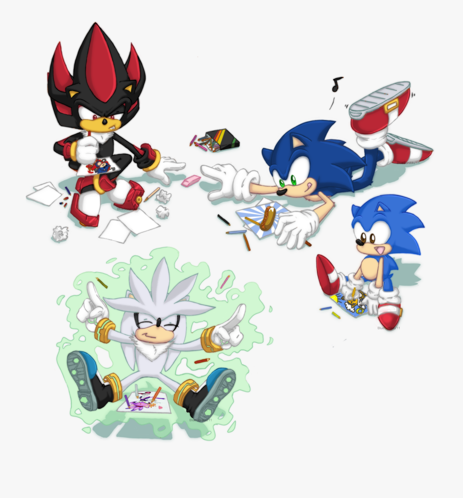 Transparent Classic Sonic Png Sonic The Hedgehog Drawings Free Transparent Clipart Clipartkey