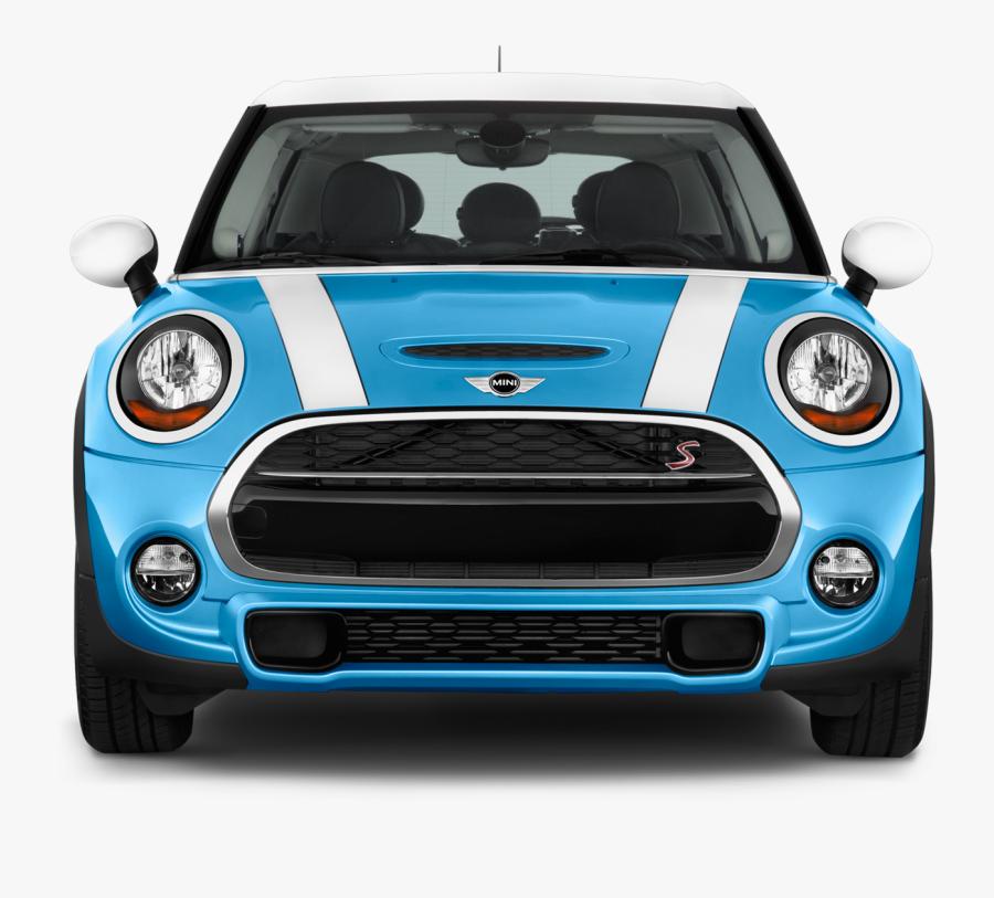 Blue Mini Cooper Png Free Download - Mini Cooper 2017 Front, Transparent Clipart