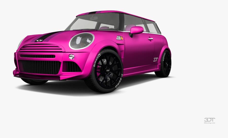 Transparent Mini Cooper Png - Mini Cooper Pink Png, Transparent Clipart