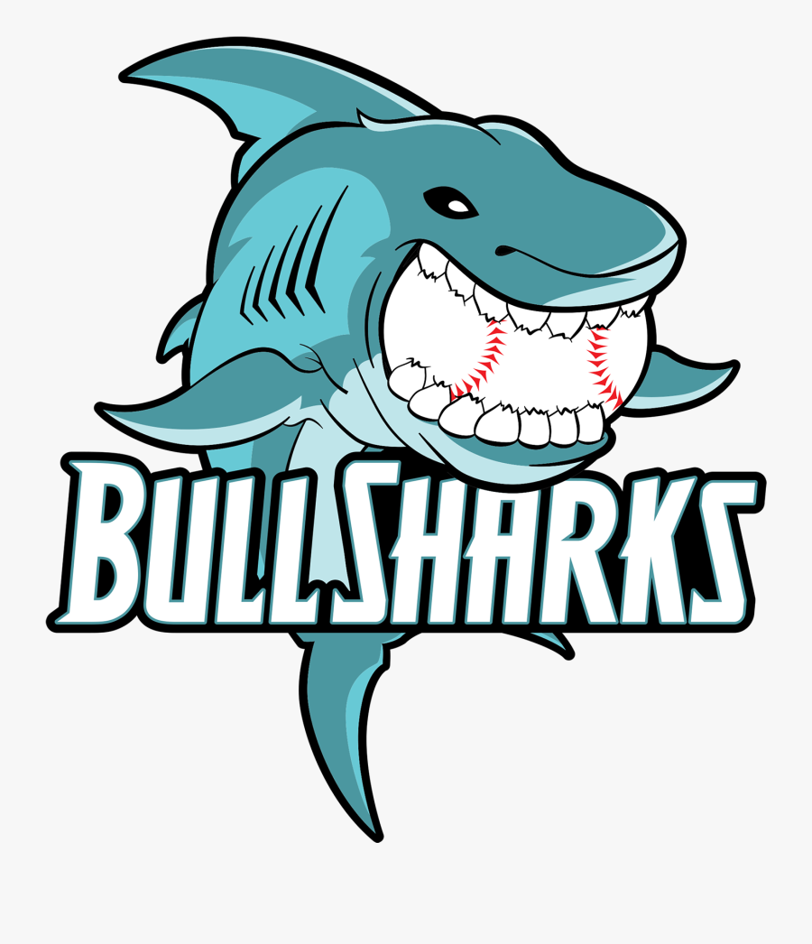 Bull Sharks Clipart , Png Download - Cartoon Bull Shark Transparent, Transparent Clipart