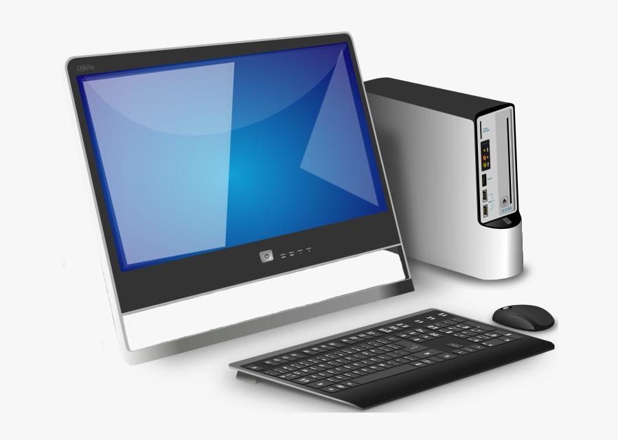 Desktop Computer, Transparent Clipart