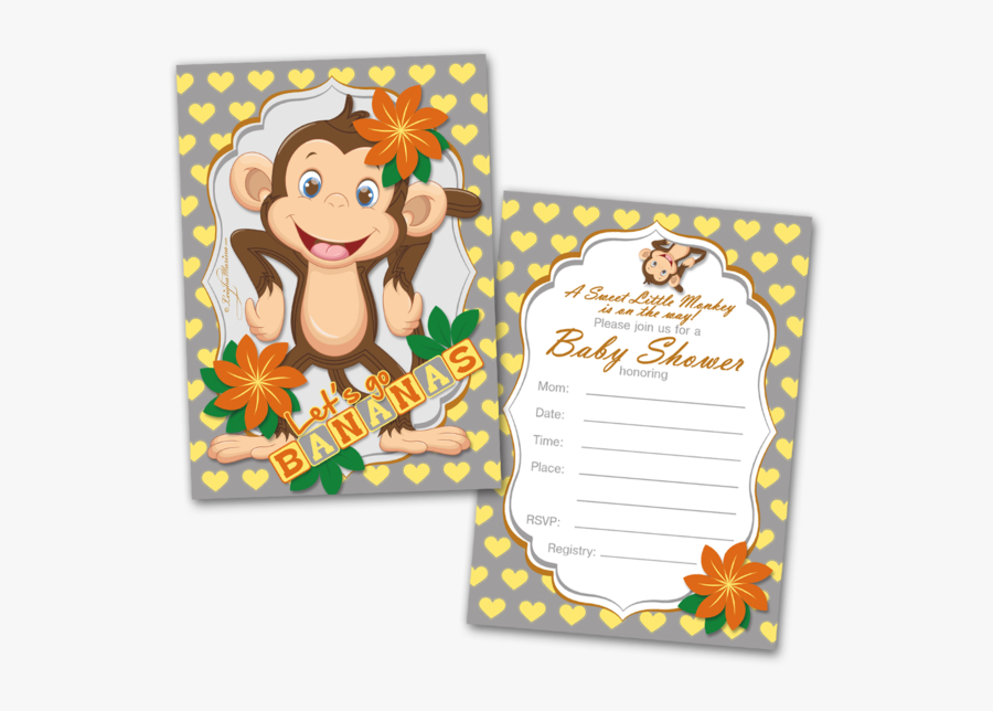 Birthday Invitation Cards For Kids, Transparent Clipart