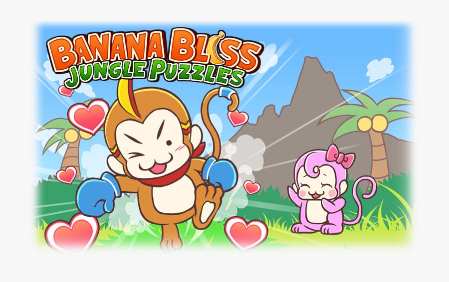 Jungle Puzzles - Banana, Transparent Clipart