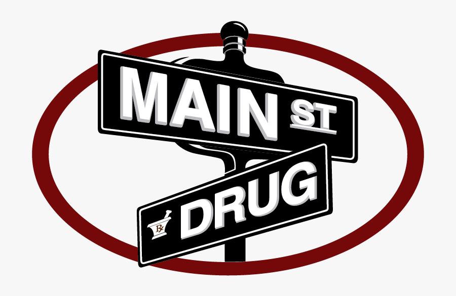 Main Street Drug & Boutique, Transparent Clipart
