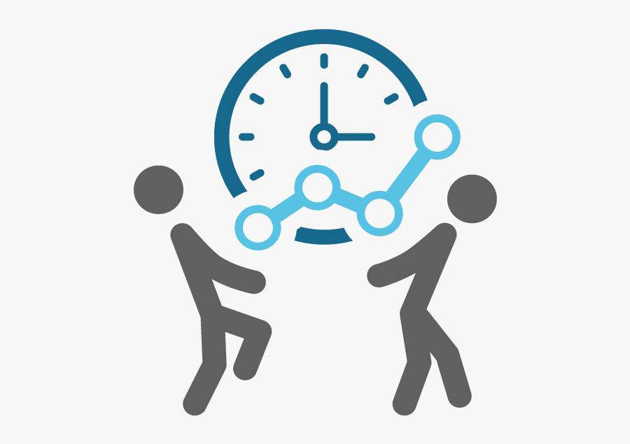 Clip Art Productivity Icon - Time Management Clipart Black And White, Transparent Clipart