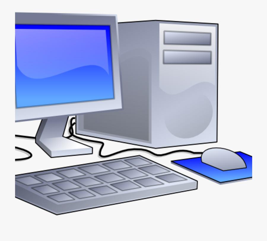 Computer Clipart Desktop Computer Clip Art At Clker - Desktop Computer Clip Art, Transparent Clipart