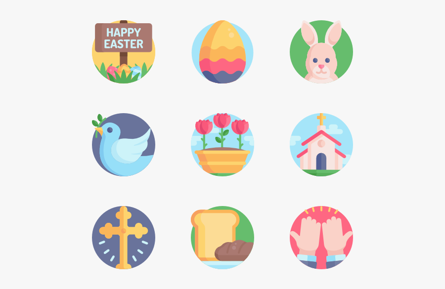 Religious Vector Easter - Human Resources Vector Png Icon, Transparent Clipart