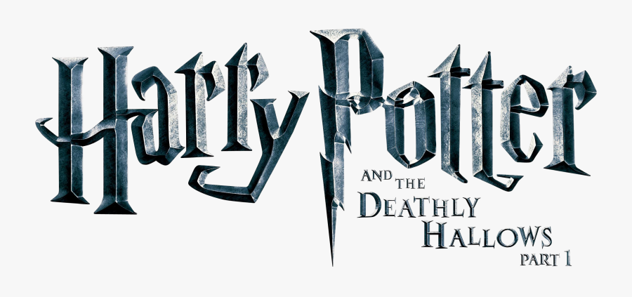 """Harry Potter And The Philosopher""""s Stone Professor - Harry Potter And The Deathly Hallows Part 1 Title, Transparent Clipart"""