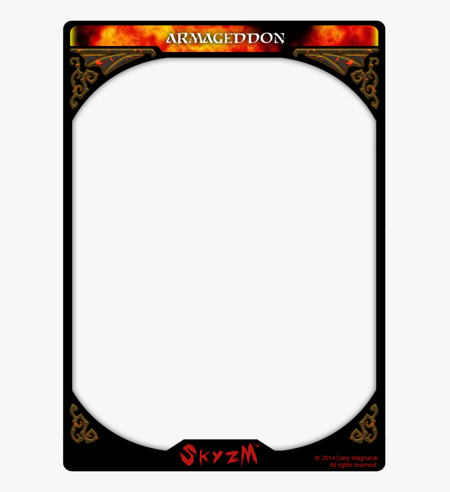 Card Template Png Game Card Template Png Free Transparent Clipart Clipartkey