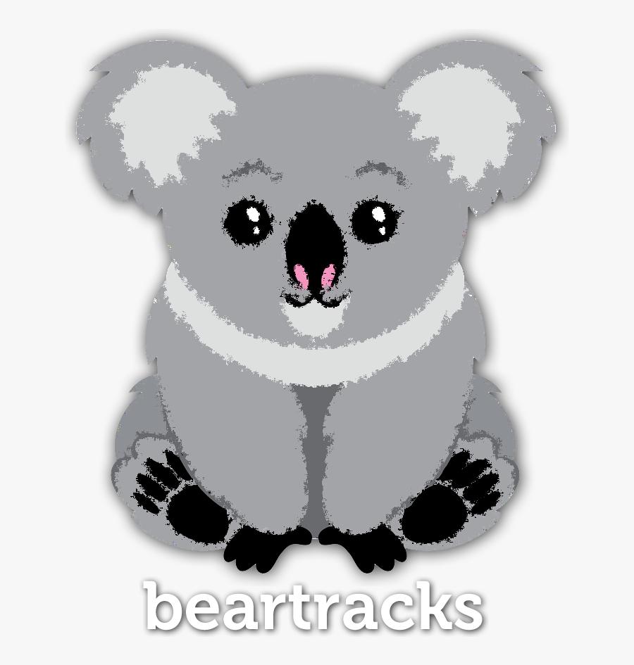 Imagewave Design Bear Tracks - Safari Animals Clipart Png, Transparent Clipart