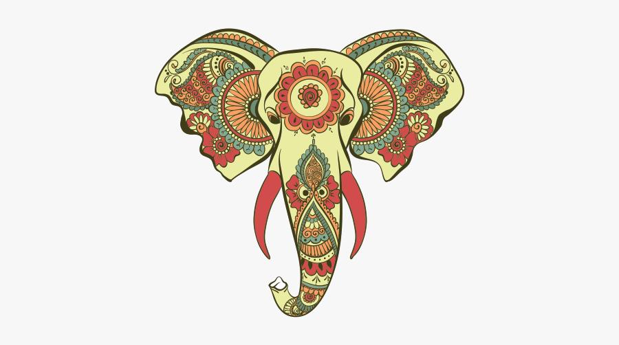 Hinduism Png Image - Elephant India Art, Transparent Clipart