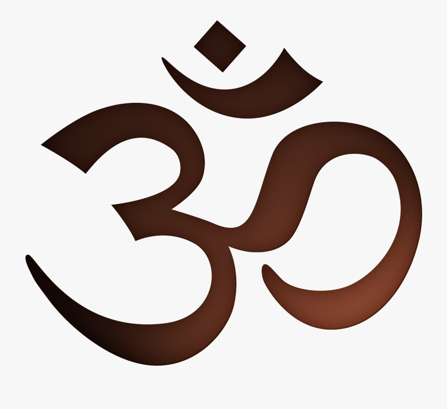 Om Drawing Tattoo Hinduism - Знак Ом Png, Transparent Clipart