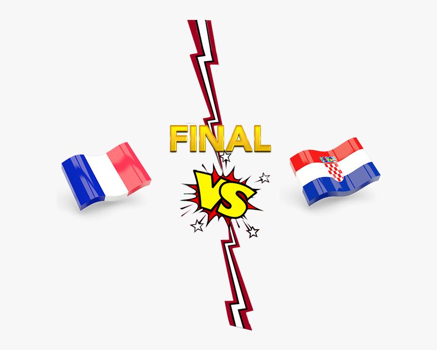 Fifa World Cup 2018 Final Match France Vs Croatia Png - Ind Vs Eng 2019 World Cup, Transparent Clipart