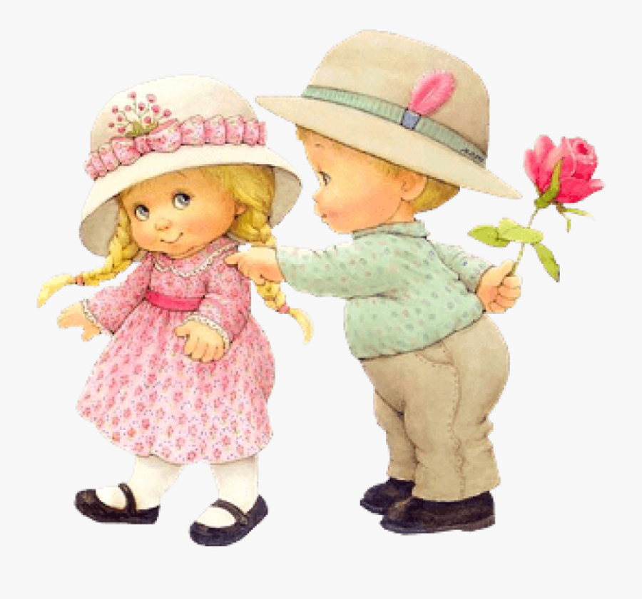 Free Png Download Cute Little Girl And Little Boy Clipart - Cute Little Girl Boy, Transparent Clipart