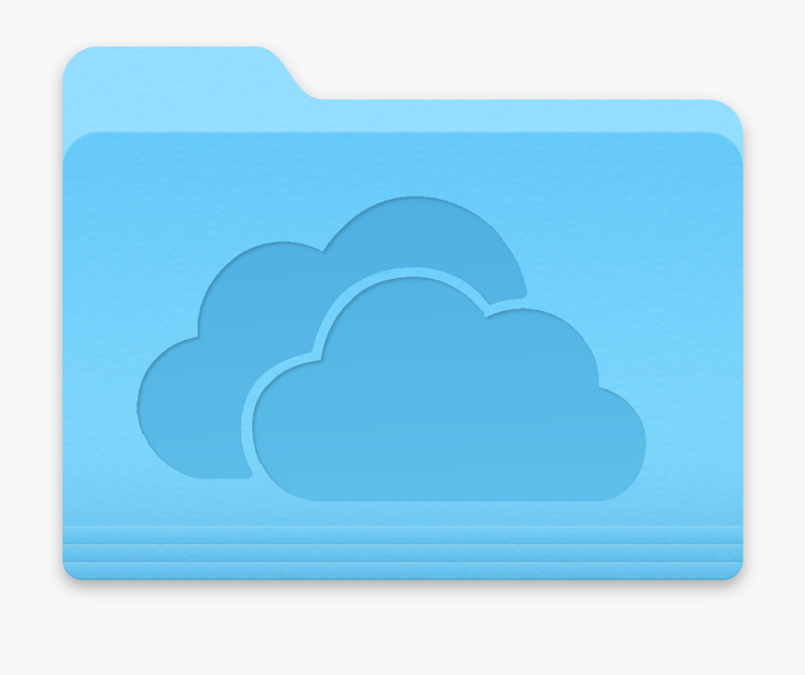 Skydrive For Mac By Kleptonooch - Mac Os Folder Download Icon, Transparent Clipart