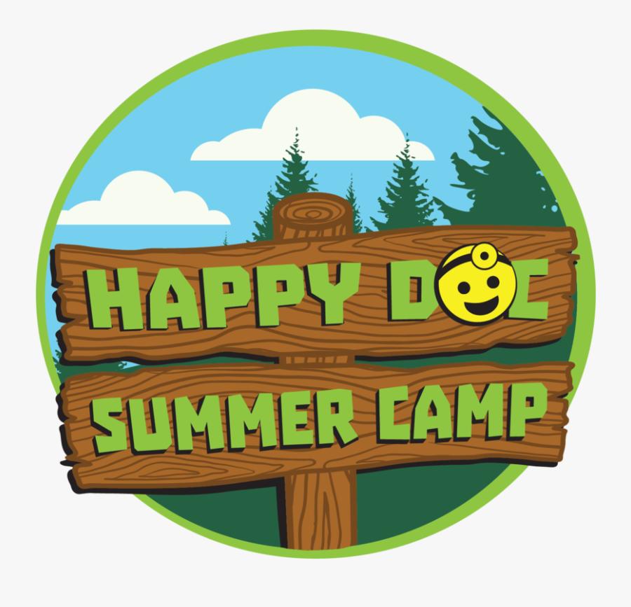 Happy Doc Summer Camp, Transparent Clipart