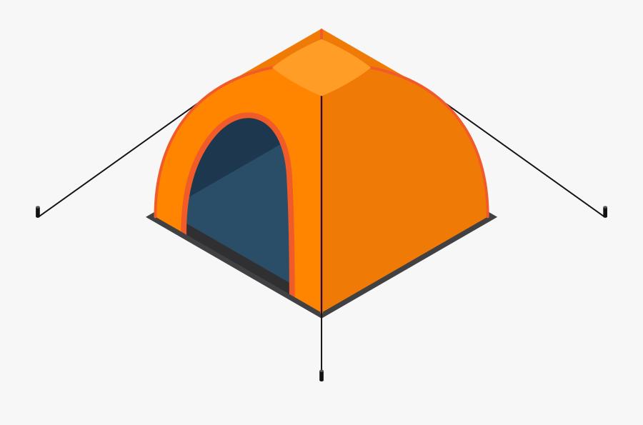 Transparent Camping Tent Clipart, Transparent Clipart