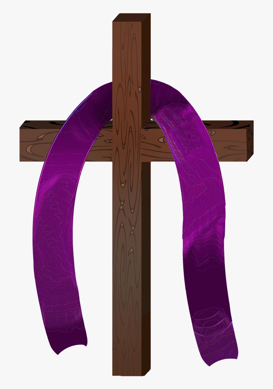 Lent, Clipart, Cross, Christianity, Crucifixion, Jesus - Lent Clip Art, Transparent Clipart