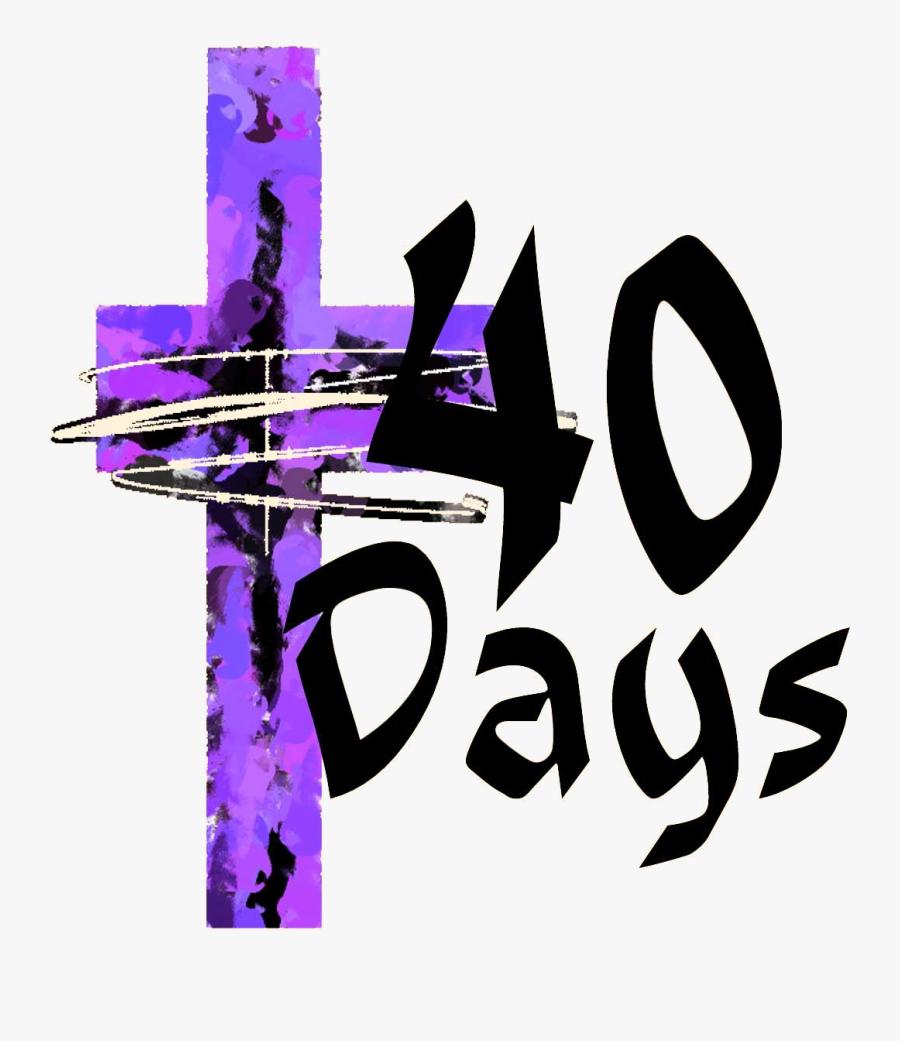 Transparent Beginning Clipart - 40 Days Of Lent 2019, Transparent Clipart