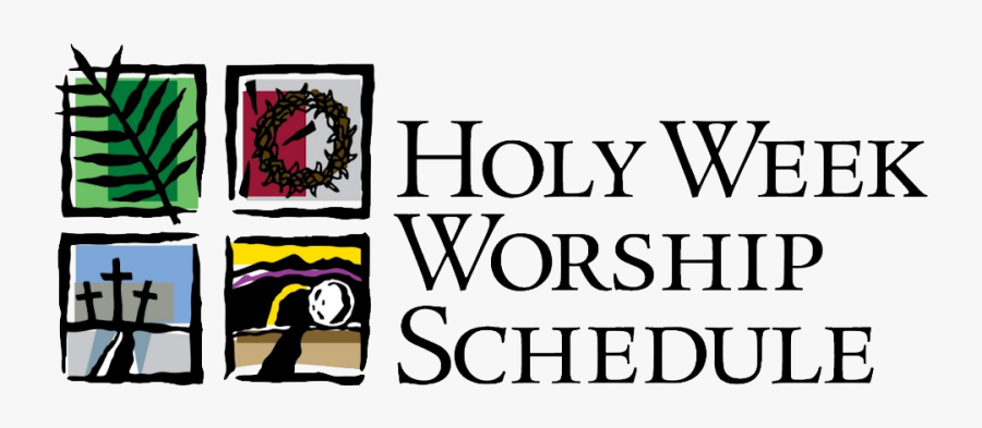 Pin By Totowa United - Holy Week Schedule 2017, Transparent Clipart