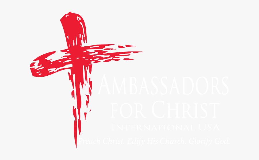 Ambassadors For Christ - Ash Wednesday Cross, Transparent Clipart