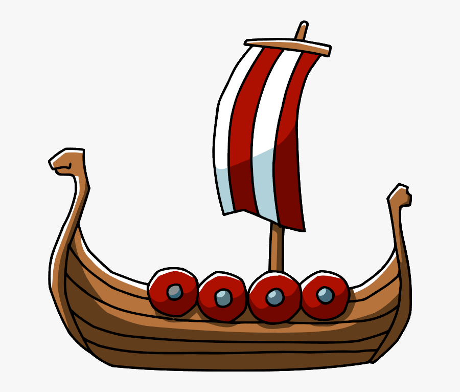 Transparent Ship Png - Viking Ship Png, Transparent Clipart
