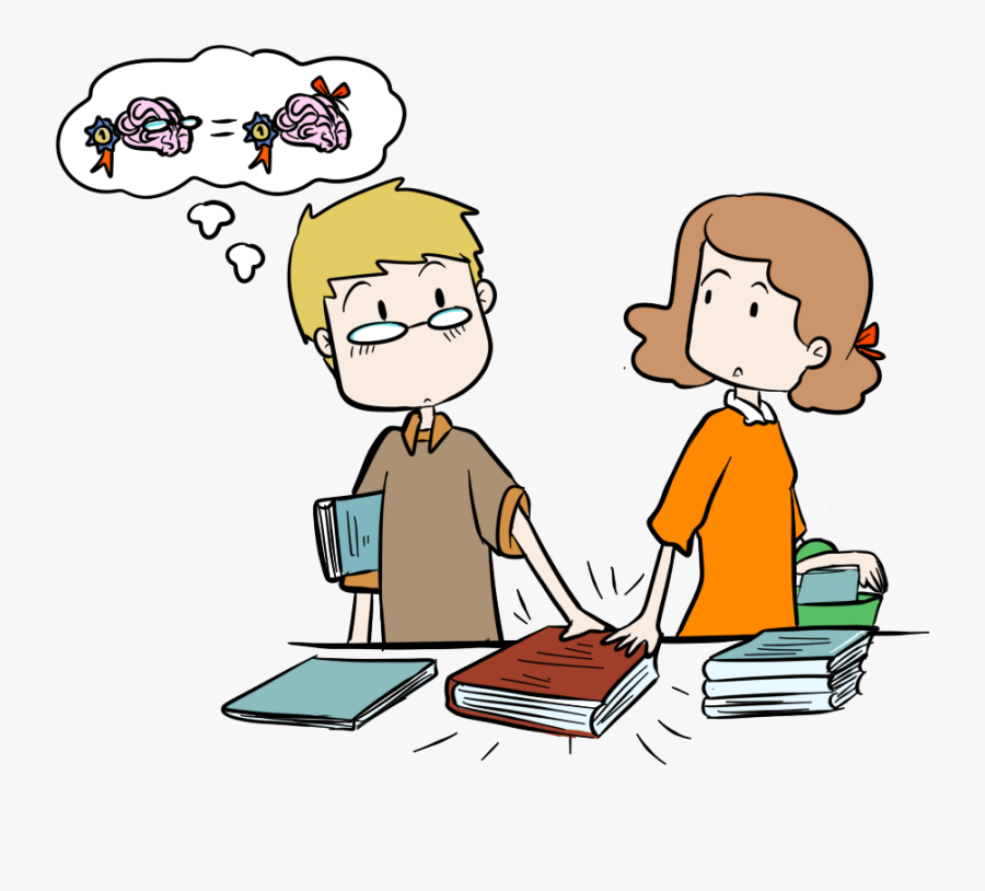 Clip Art Conversation Between Two People - Think Alike Clip Art, Transparent Clipart