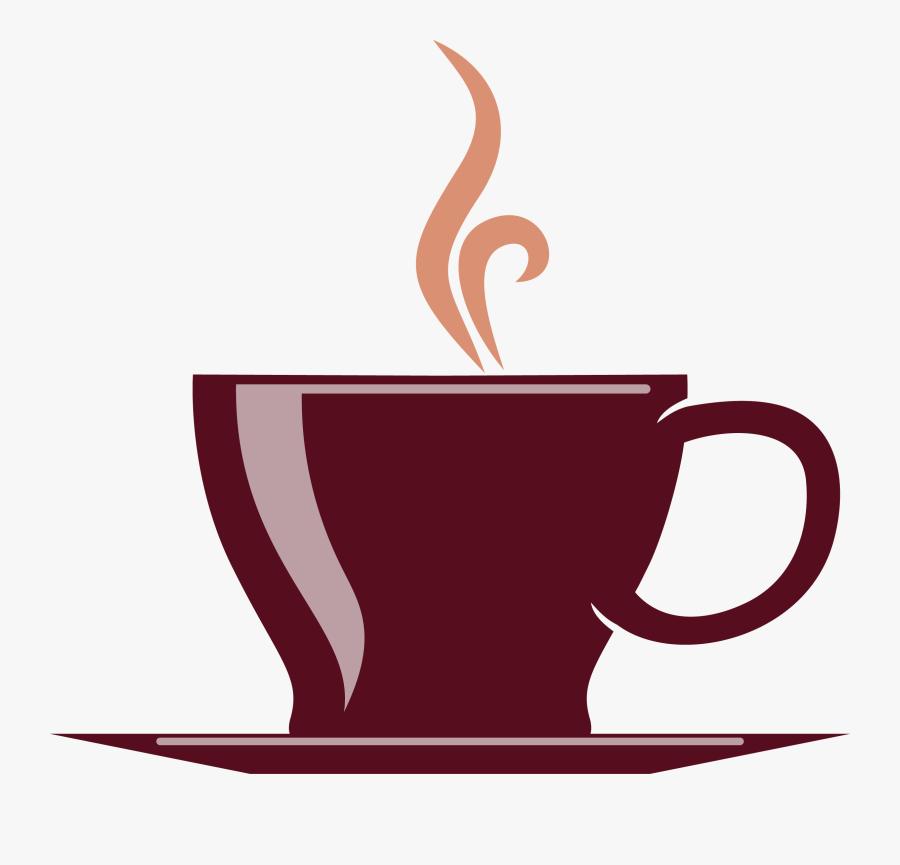 Cup Clipart Brown Coffee Mug - Transparent Background Coffee Cup Clipart, Transparent Clipart