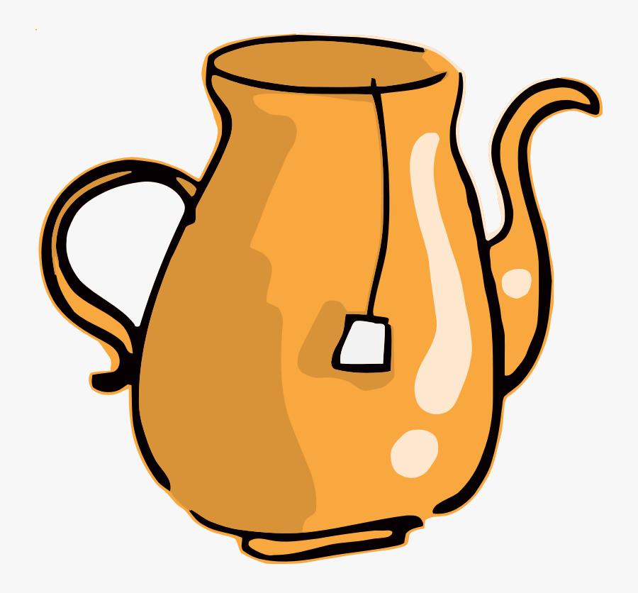 Cup,tableware,mug - Teapot, Transparent Clipart