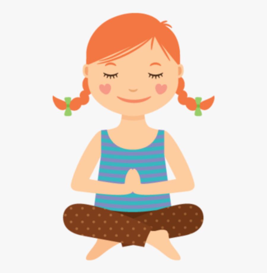 Benefits Of Yoga Mindfulness Kid Doing Yoga Cartoon Free Transparent Clipart Clipartkey