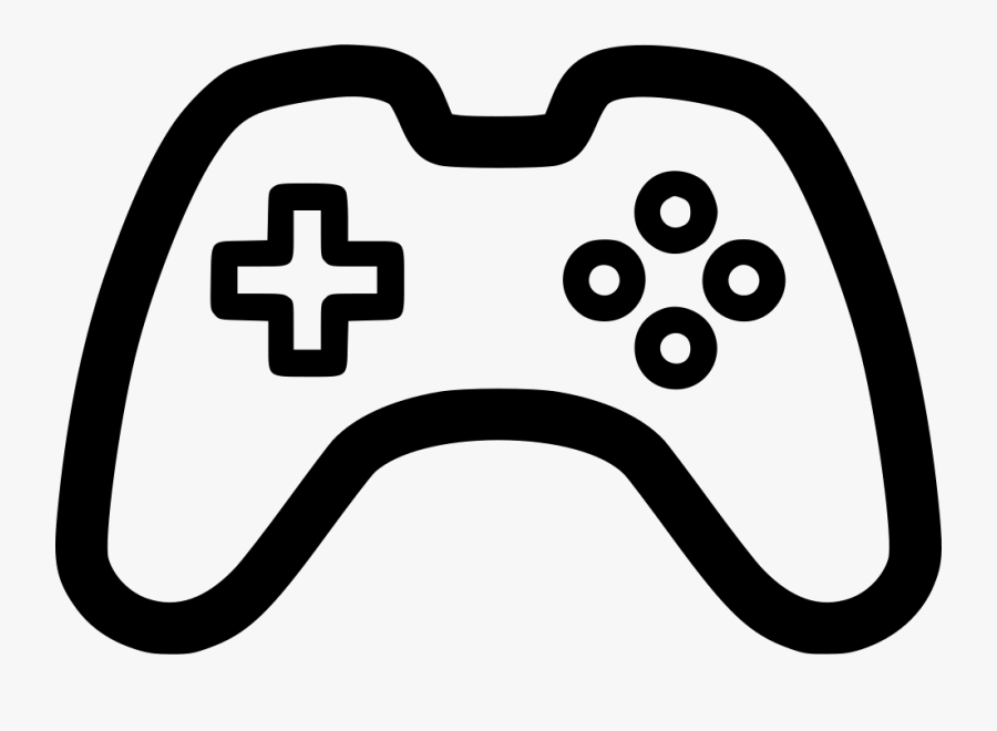 Game Controller Pad Videogame Svg Png Icon Free Download - Transparent Video Game Controller, Transparent Clipart