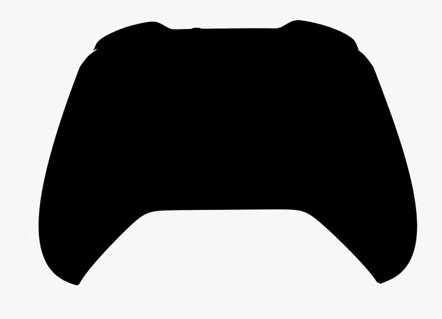 Xbox 360 Controller Silhouette Clip Art At Clker - Game Controller Silhouette Png, Transparent Clipart